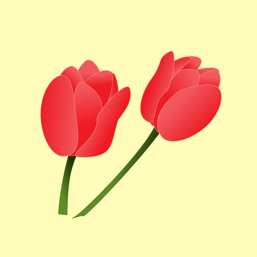 Terrific Tulip Stickers