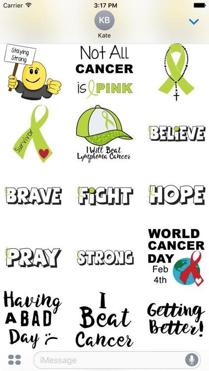 Lymphoma Cancer Stickers
