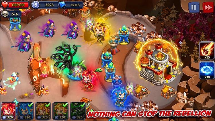 Kingdom Defense: Heroes War TD screenshot-4