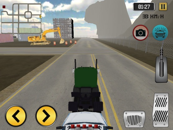 Highway Police Truck Driving screenshot 1