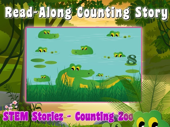 STEM Storiez-Counting Zoo EDU screenshot 6