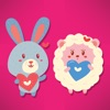 Sheep & Bunny Stickers!