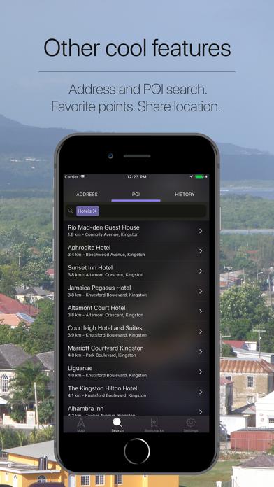 Jamaica Offline Navigation Screenshot