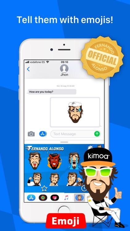 Fernando Alonso for Whatsapp