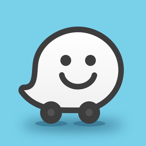 Waze Navigation & Live Traffic app logo