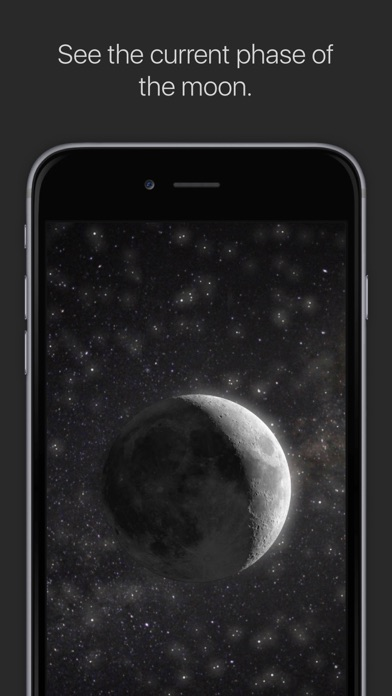 Screenshot for MOON - Current Moon Phase in United States App Store