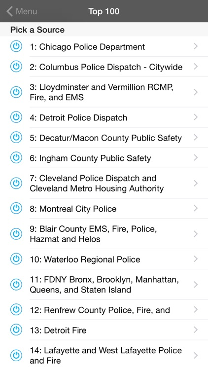 5-0 Radio Police Scanner screenshot-3
