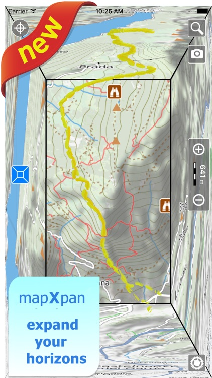 Yosemite NP Hiking Trails GPS