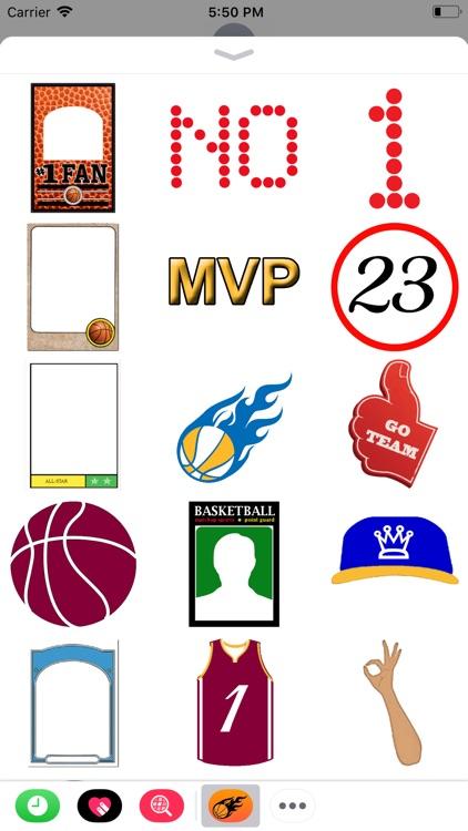 Basketball Hoops Sticker Pack screenshot-3