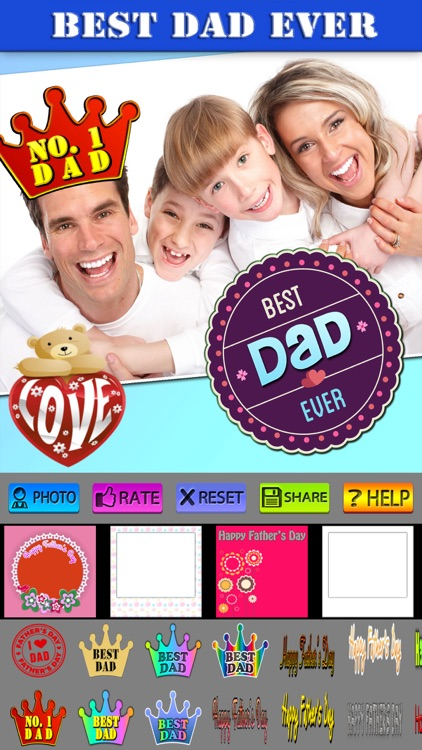 Happy Father's Day Posters screenshot-4