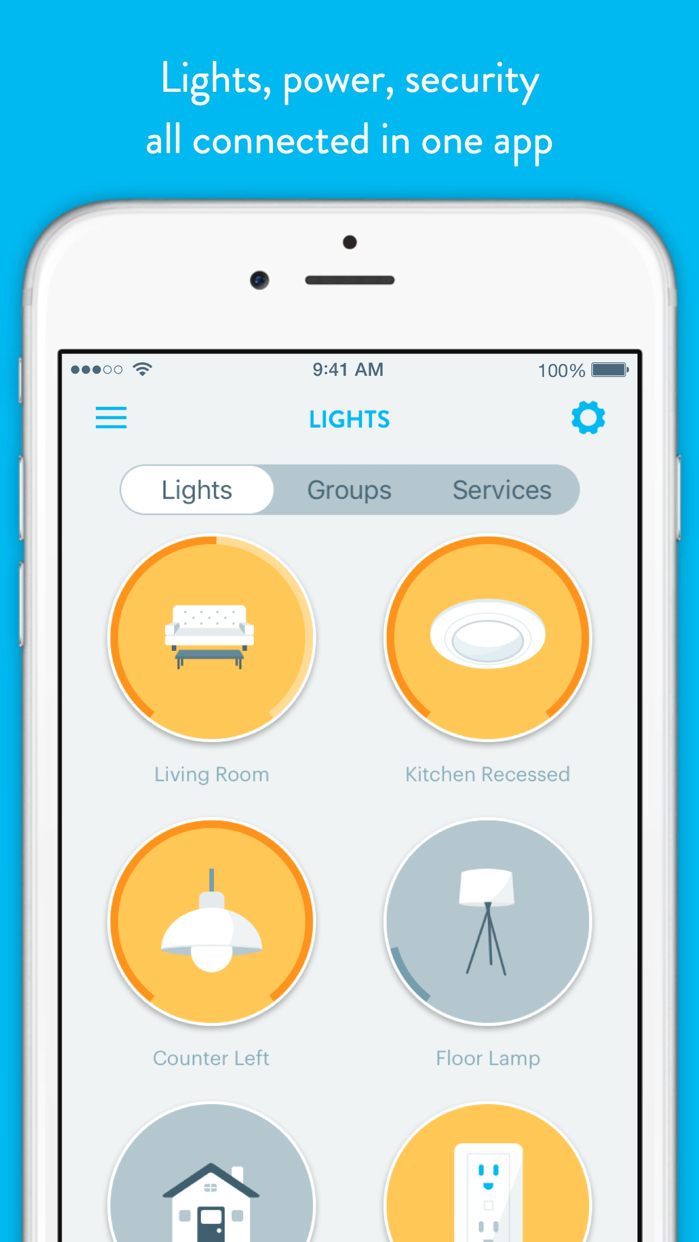 Wink - Smart Home Screenshot