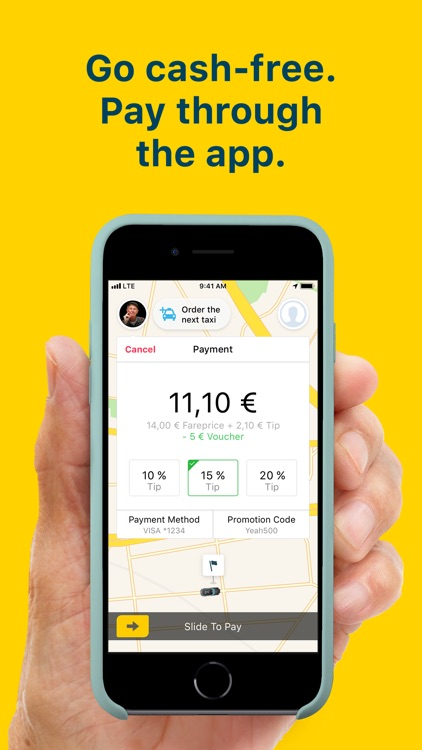 mytaxi: Tap & Move Freely screenshot-5