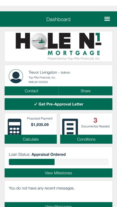 Hole N1 Mortgage screenshot two