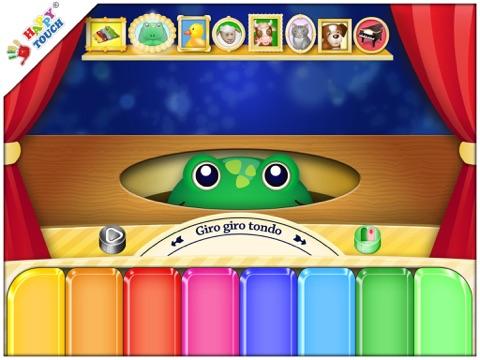 動物の鳴き声が出る子供向けピアノ(子供用Happy Touchミュージックアプリ)のおすすめ画像2
