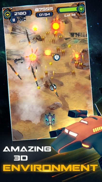 3D Sky Force : Space Shooter screenshot-4