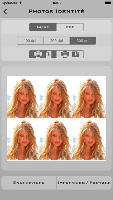 Screenshot #2 pour Photos d'identité Pro
