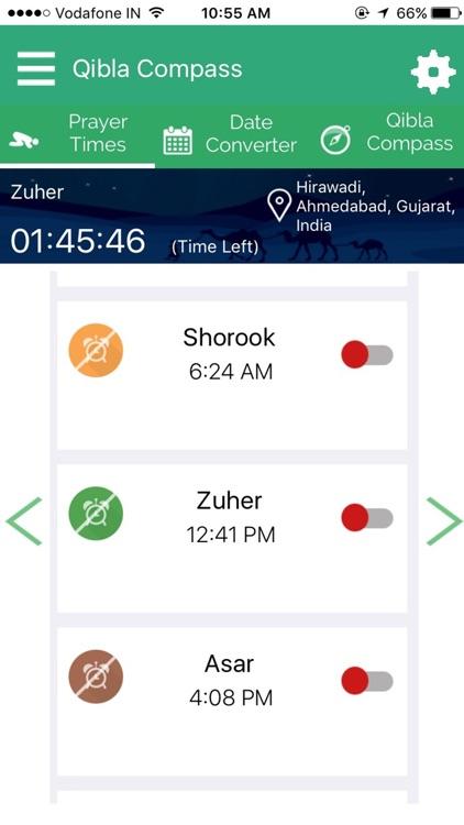 Qibla Compass & Ramadan 2018