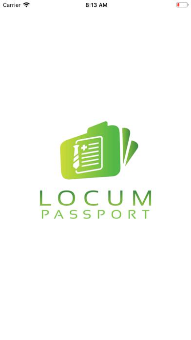 Locum Passport screenshot one