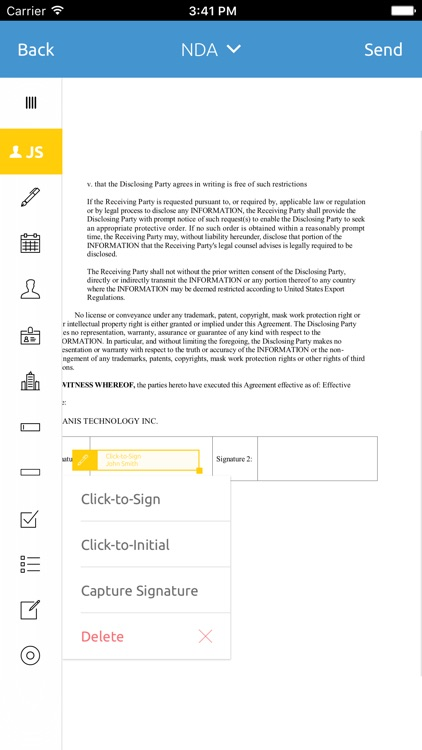 eSignLive - Sign Documents Now screenshot-3