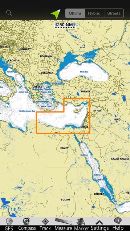 Mediterranean SE GPS Charts screenshot-4