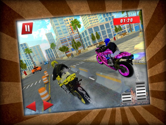 Bike Race Chained Stunts screenshot #4