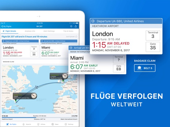 Der Flug Tracker - Pro Screenshots