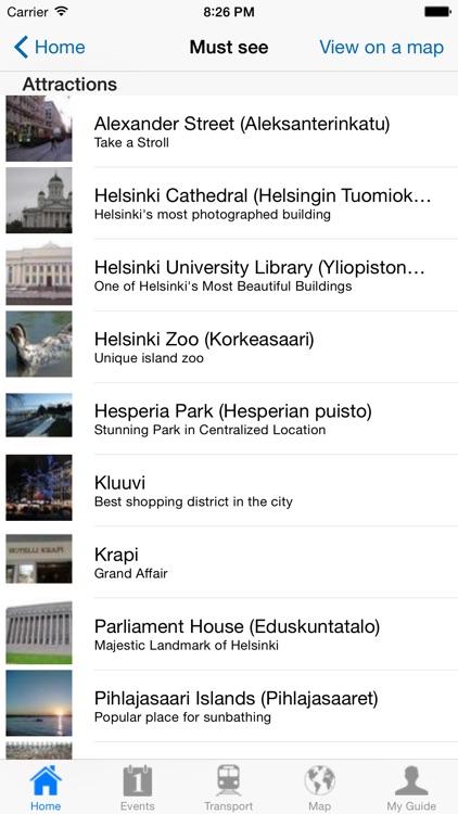 Helsinki Travel Guide Offline screenshot-3