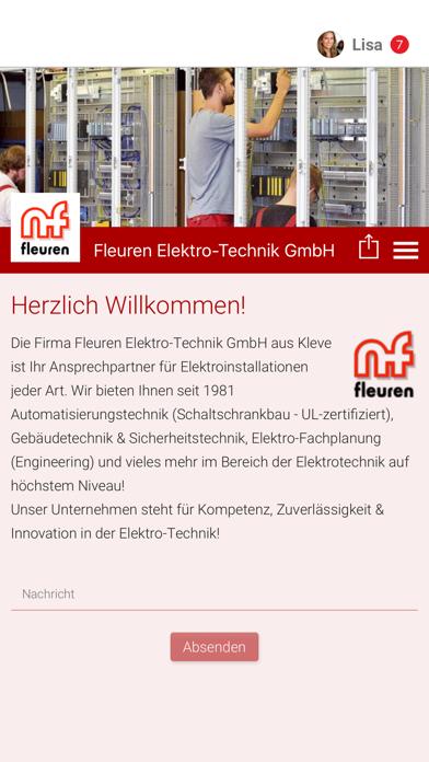 Fleuren Elektro-Technik screenshot one