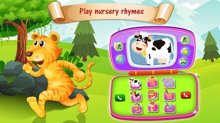 Baby phone toy - kids learning game