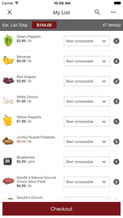 Freshop Groceries screenshot-3