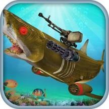 愤怒 机器人 鲨鱼 模拟器 - 亲