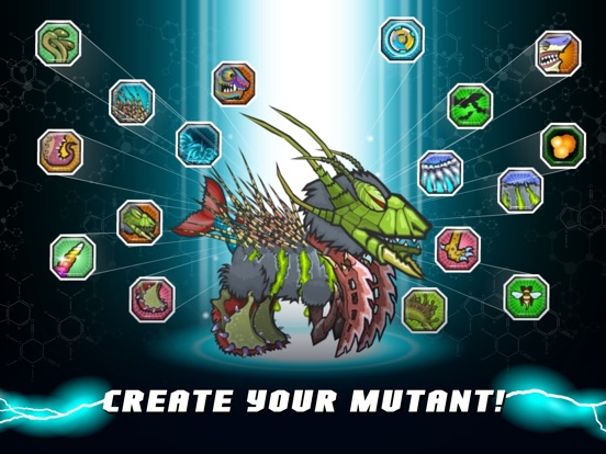 Mutant Fighting Cup 2 на iPad