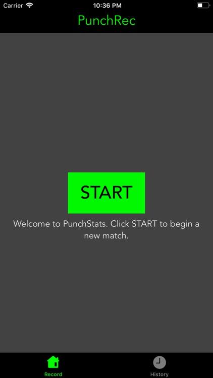PunchRecorder screenshot-0