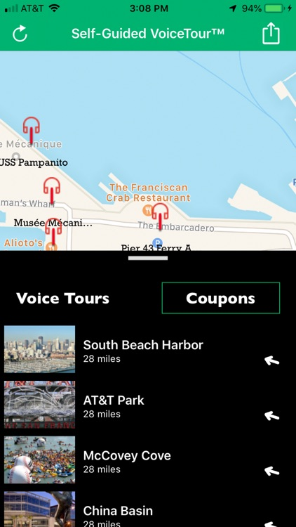 Talking Map - San Francisco