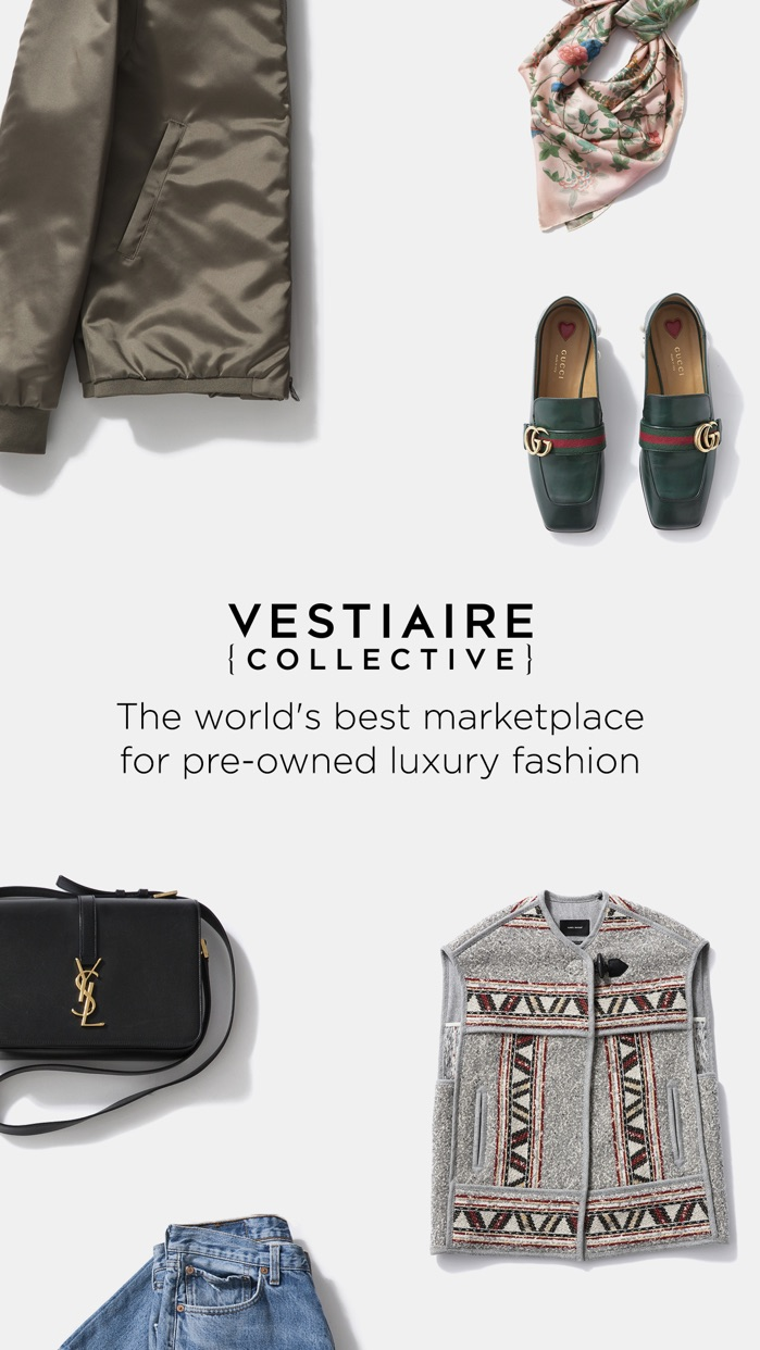 Vestiaire Collective Screenshot