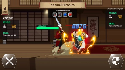 Samurai Kazuya : Idle Tap RPG screenshot three