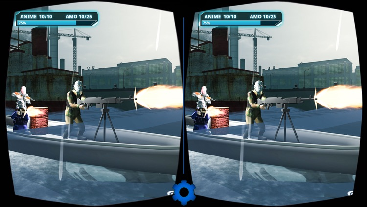 VR Military Battleship War screenshot-3