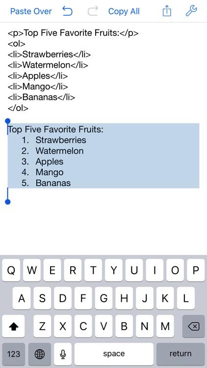 Clean Text screenshot-3