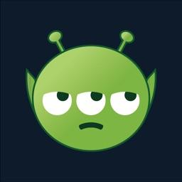 Aliens Emoji - Cute & Funny