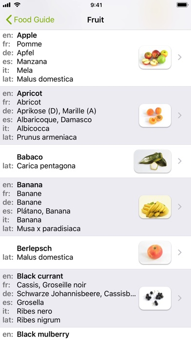 Screenshot for Food Guide in Hong Kong App Store