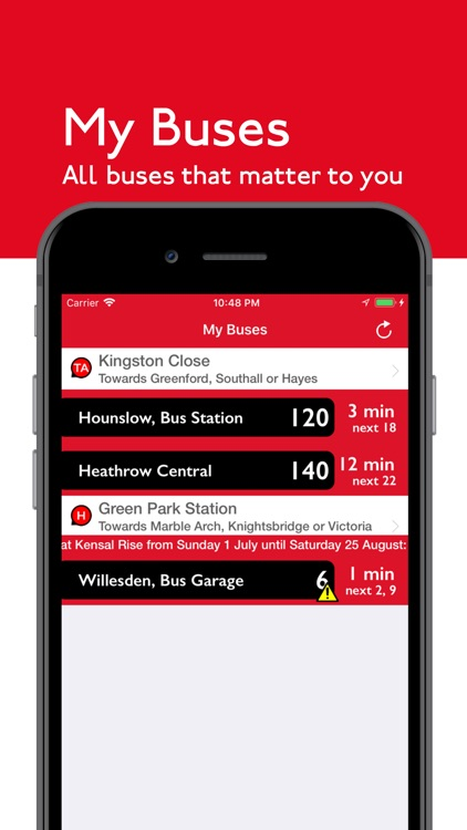 London Bus Times Live screenshot-4