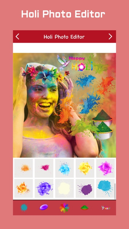 Holi Photo Editor screenshot-3