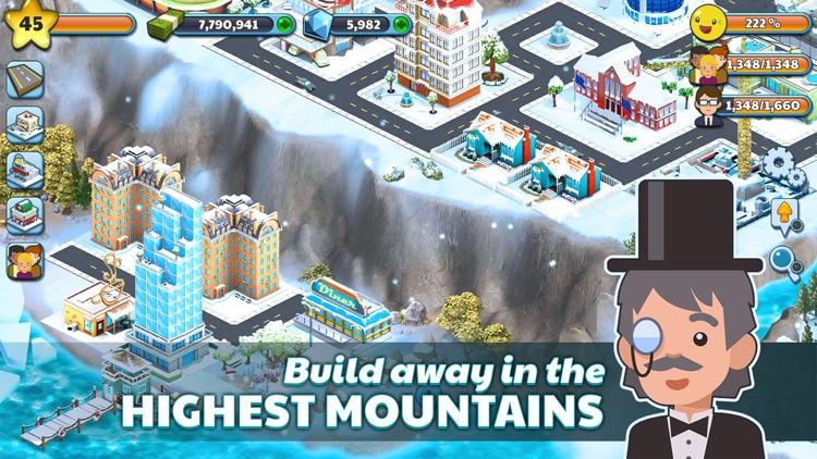 Snow Town - Ice Village World screenshot-4