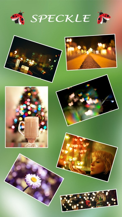 Price Drop: Speckle - Lens bokeh  (Photography)