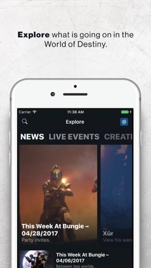 Destiny 2 Companion Screenshot