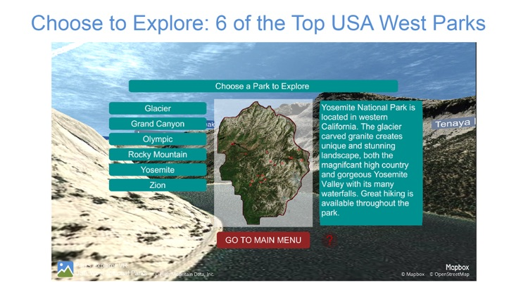 Parks Explorer VR - USA West screenshot-4