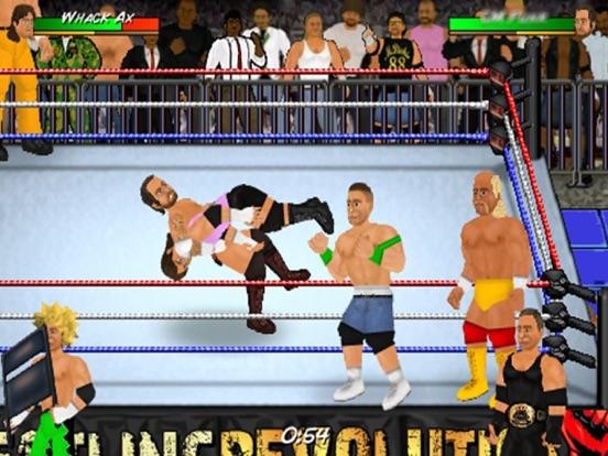Скачать игру Wrestling Revolution