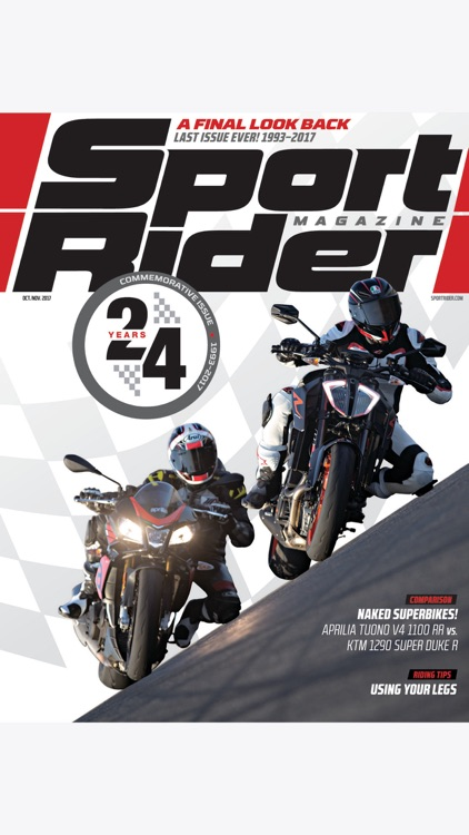 Sport Rider Mag screenshot-0