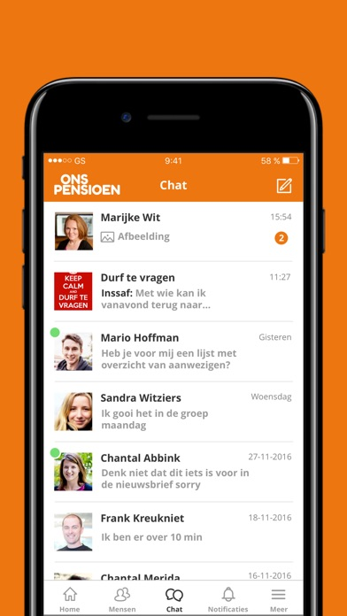 Image of OnsPensioen for iPhone