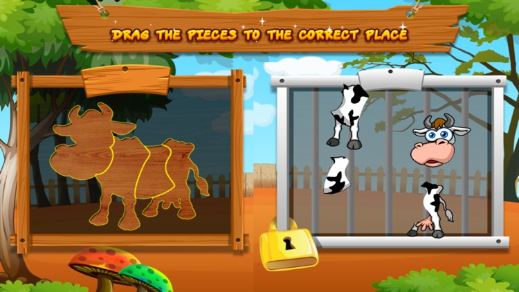 Preschool Zoo Puzzles Zoolingo screenshot-8